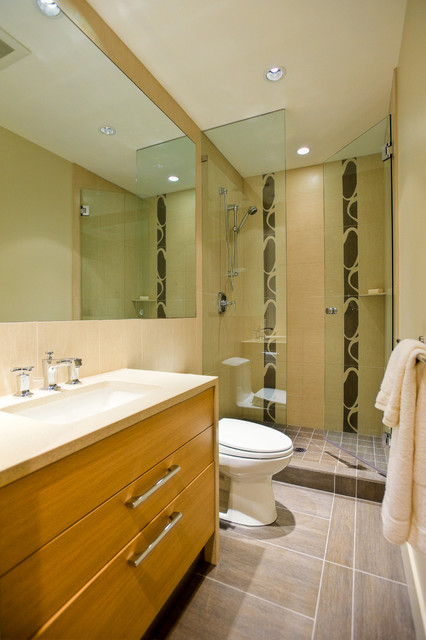 Arbutus vancouver contemporary bathroom vancouver for Bathroom design vancouver