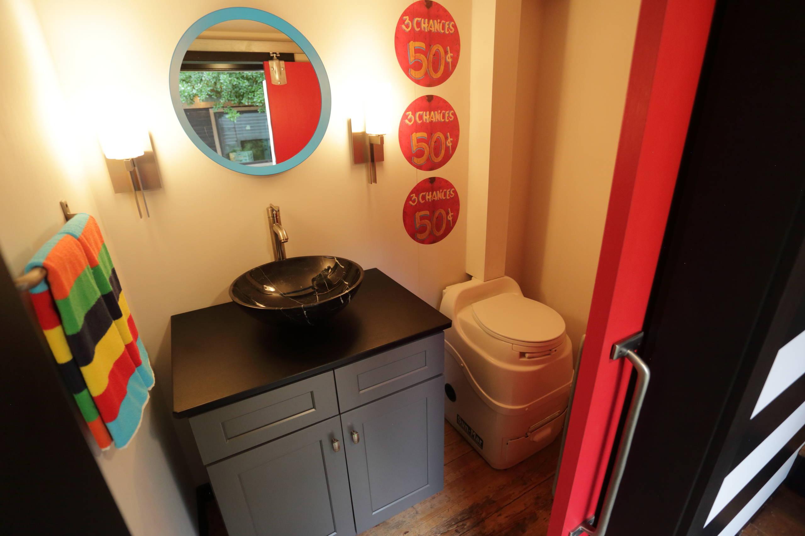 Arcade Semi-Trailer conversion to a tiny home