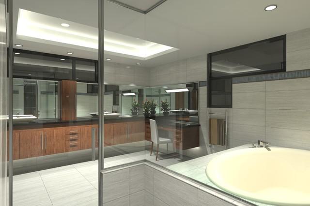 Arcadia At Silverleaf Contemporary Bathroom Phoenix