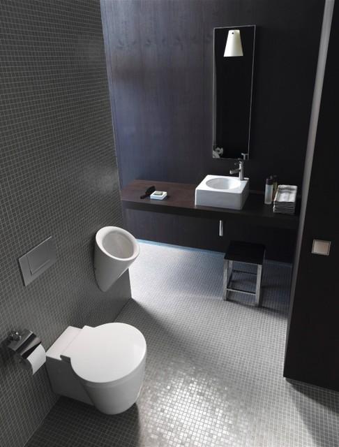 Architec series by duravit contemporary bathroom chicago for Duravit architec toilet