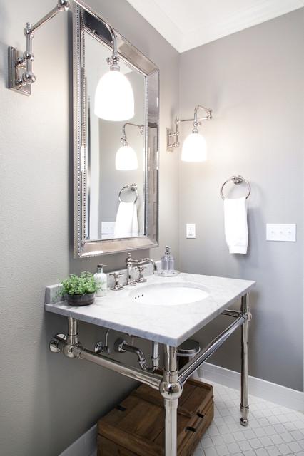 Elegant bathroom photo in Portland