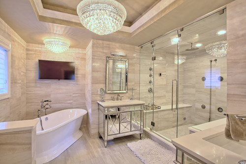 Luxury contemporary home remodel in arden heights ny for Annmarie ruta elegant interior designs
