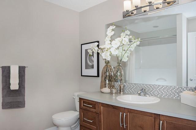 Arden Show Home In EvansRidge NW Calgary Transitional Bathroom Calga