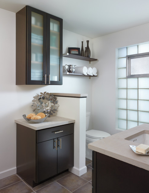 Aristokraft Cabinetry Contemporary Bathroom Indianapolis By Great Kitchens Baths