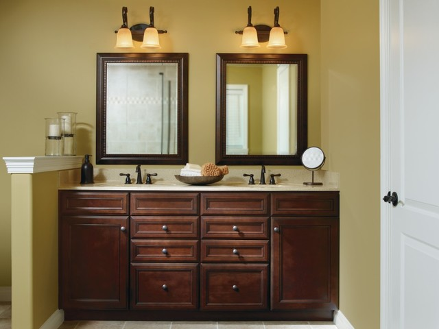Aristokraft Wentworth Vanity Cabinets Traditional Bathroom Other By Masterbrand Cabinets