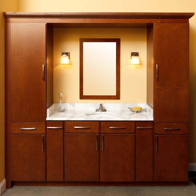 Aristokraft Showroom Display Traditional Bathroom Baltimore - Bathroom showrooms baltimore