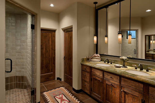 bathroom cabinets phoenix az arizona ranch southwestern bathroom by 15651