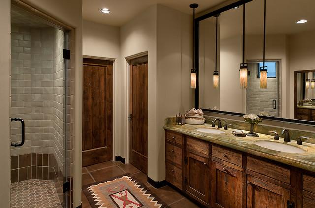 . Arizona Ranch   Southwestern   Bathroom   Phoenix   by Angelica