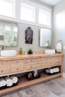 Arkansas home renovation asiatisch badezimmer for Gartenmobel asiatisch