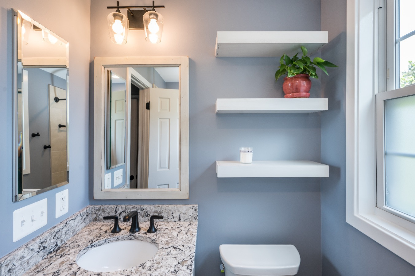 Arlington Farmhouse Bathroom Remodel