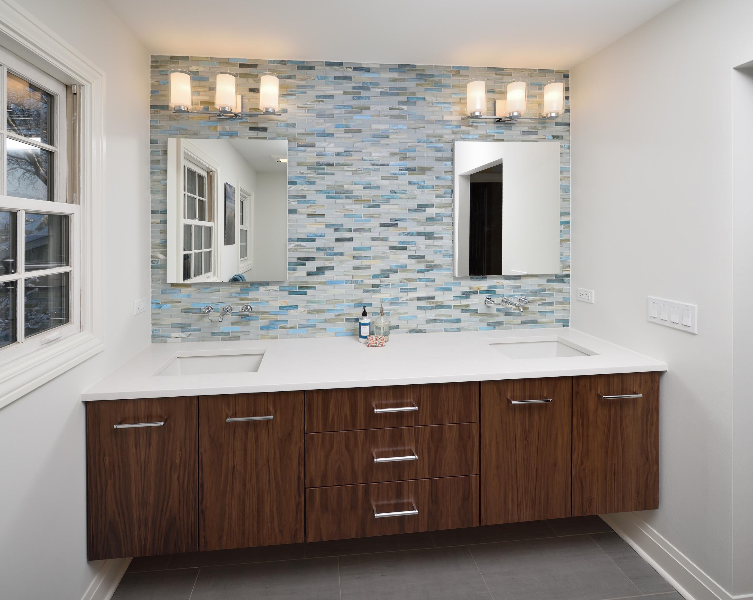Arlington Heights Modern Master Bath