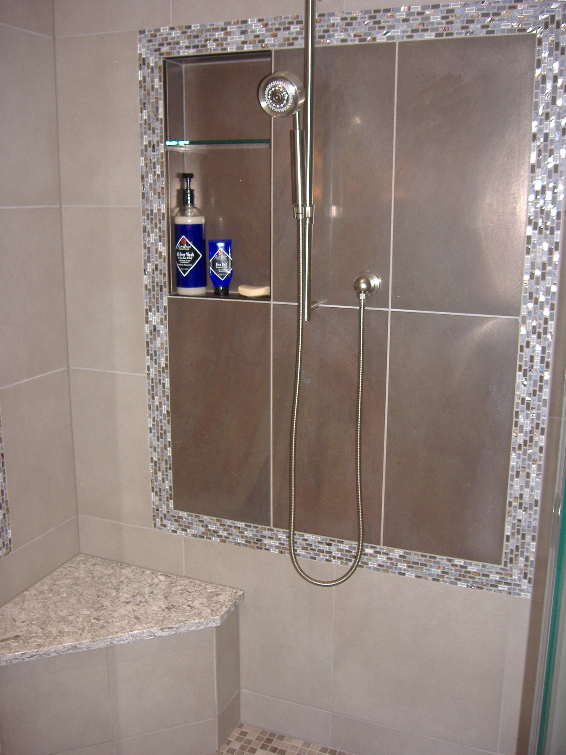 Arlington Transitional Bathroom