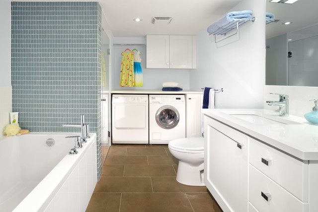 Armadale Project Bat Bathroom Laundry Room Contemporary