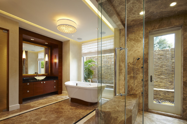 Arnold Schulman contemporary-bathroom