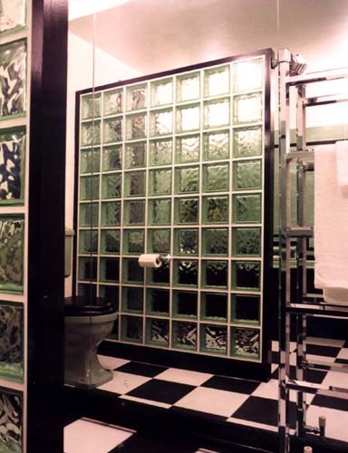 Art Deco Bathroom Traditional Bathroom London By