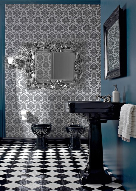 Art Deco bathroom traditional-bathroom