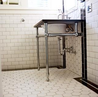 Art Deco Bathroom - Traditional - Bathroom - other metro - by atomic * design