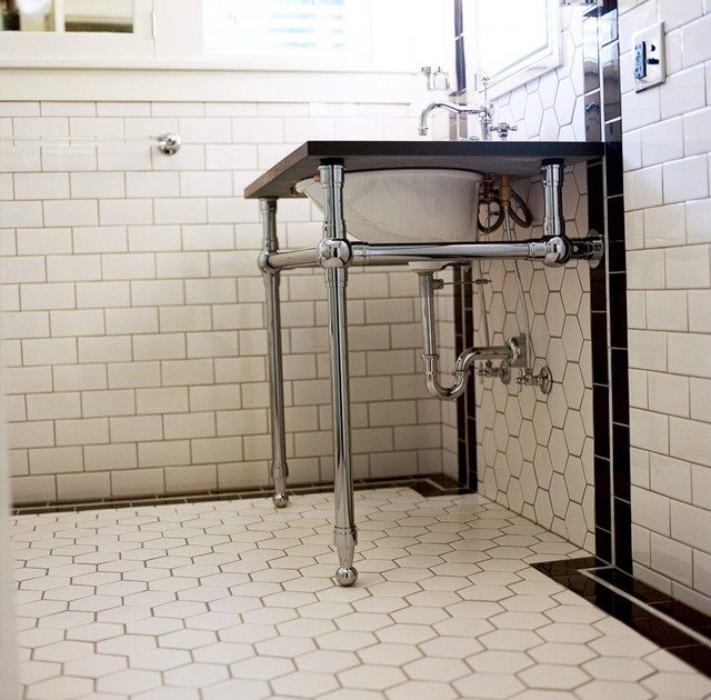 Art Deco Bathroom Traditional Portland By