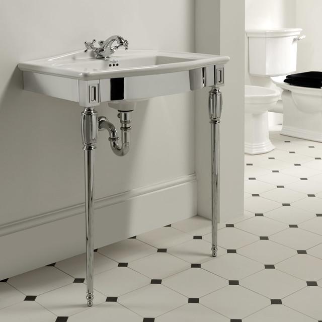 Art Deco Inspired Bathroom Eclectic Bathroom West