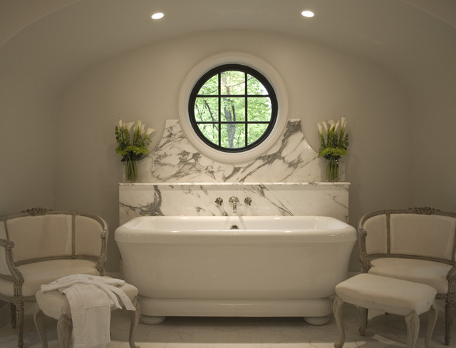Art Deco Master Bathroom traditional-bathroom