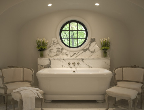 Art Deco styled bathroom