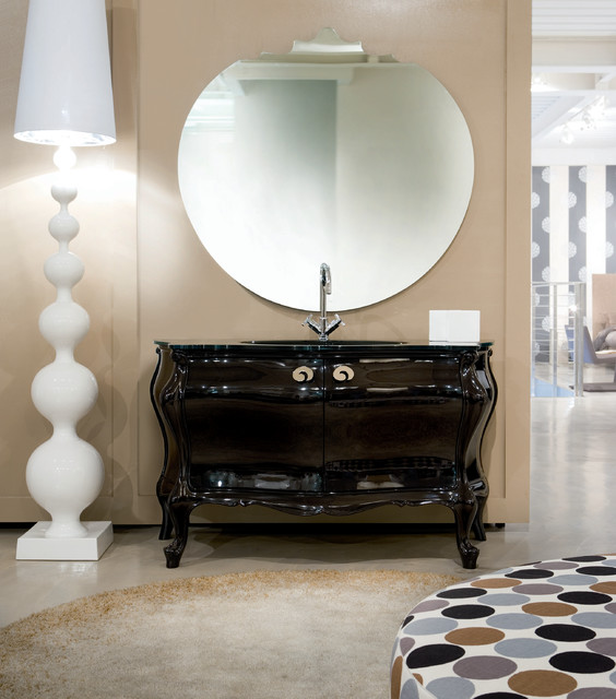 Art Deco Miami Style Modern Bathroom