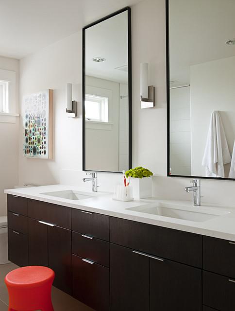 Art house guest bath modern bathroom seattle by for Modern guest bathroom