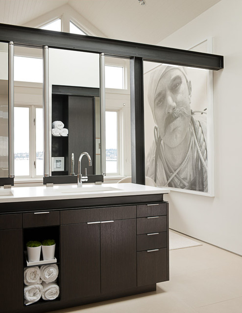Art House master bathroom modern-bathroom
