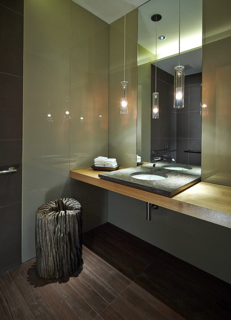 Art installation for grace restaurant further enhancing the sense of each season modern Bathroom light fixtures chicago