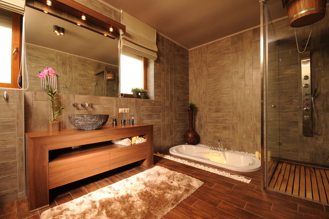 Art&deco contemporary bathroom