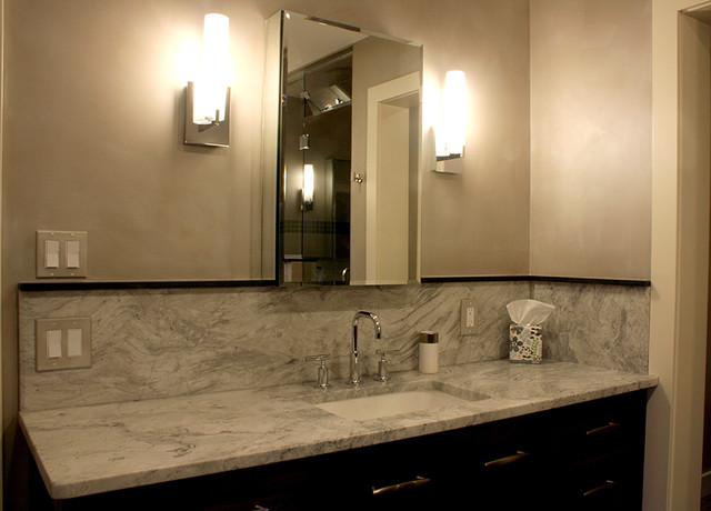 Metallic Paint Bathroom Ideas: Arteriors Platinum Velvet Metallic Paint Finish