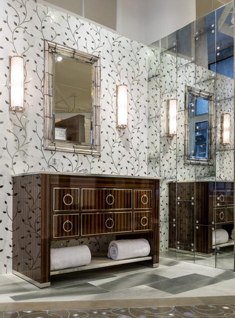Artistic Tile 2014 Look Book contemporary-bathroom