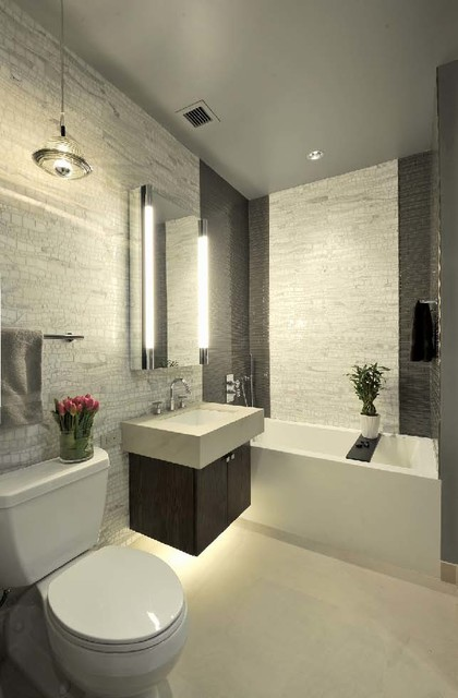 Artistic tile bathrooms bathroom other by artistic tile - Seven tips to save space in a small bathroom ...
