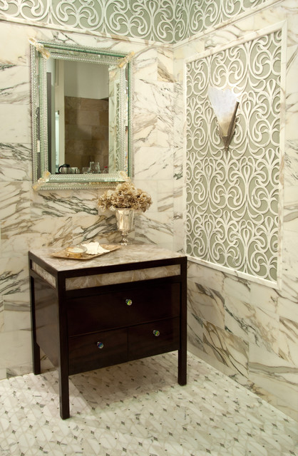 Artistic Tile modern bathroom tile