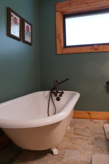 Arts and Crafts craftsman-bathroom