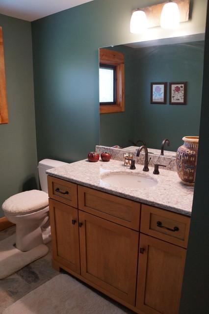Arts and Crafts craftsman-bathroom