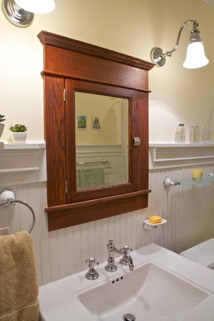 Arts crafts traditional bathroom atlanta by for Arts crafts bathroom design