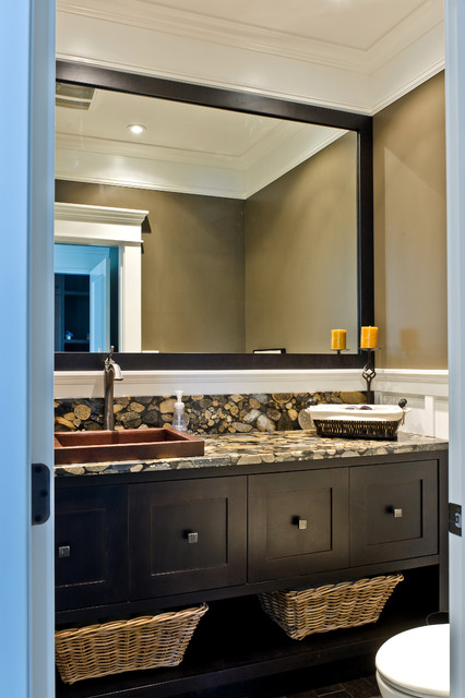 Arts and Crafts Family Homes traditional-bathroom