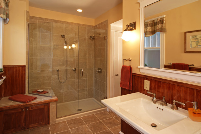 Arts crafts revival traditional bathroom st louis - Arts and crafts style bathroom design ...
