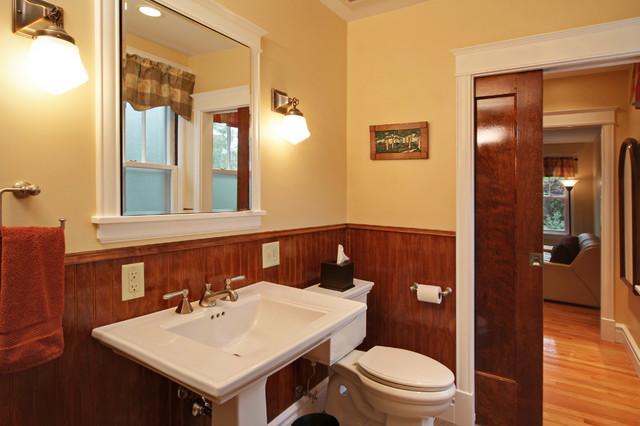 Arts & Crafts Revival traditional-bathroom