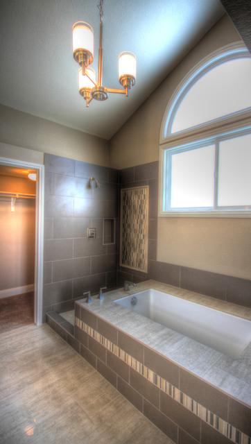 Arvada Remodel contemporary-bathroom