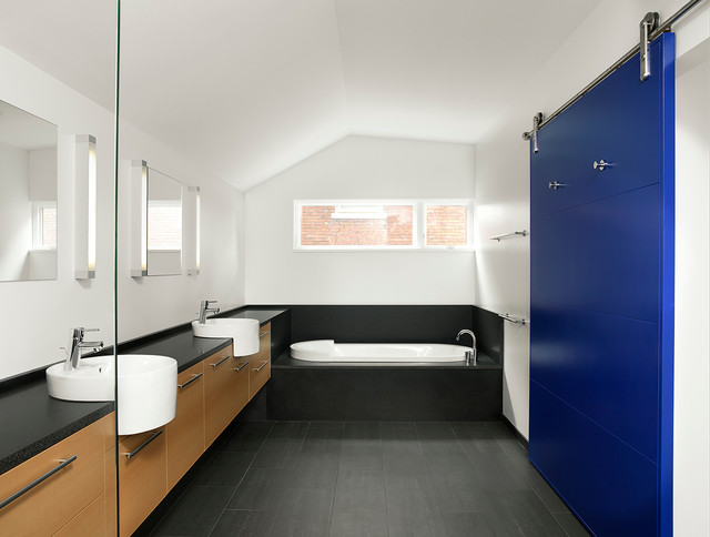 AS Renovation Modern Bathroom St Louis By Studio Durham Architects