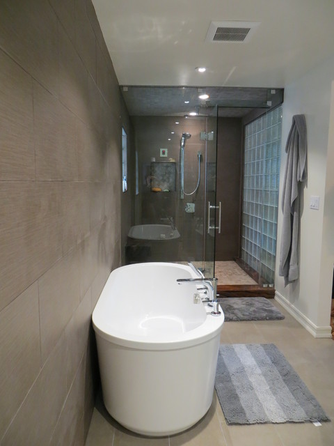 Ascher modern bathroom san francisco by new for 4x5 bathroom ideas