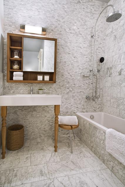 Ashbury St contemporary-bathroom