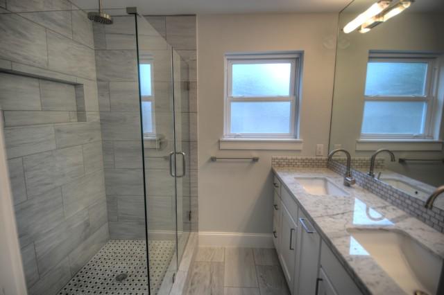 Ashwood contemporary bathroom houston by ashwood for Ashwood builders