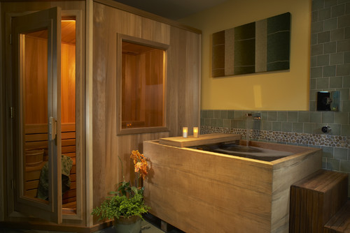 its a whole spa right in your home - Sauna Design Ideas