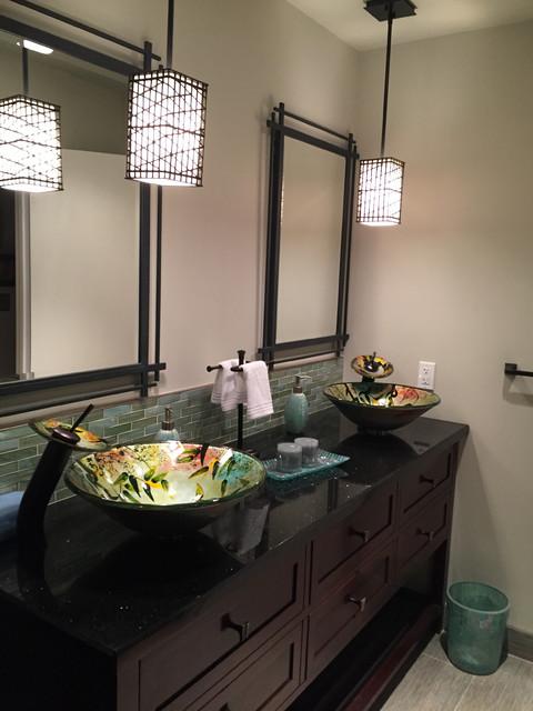 Asian Inspired Bathroom In Torrance