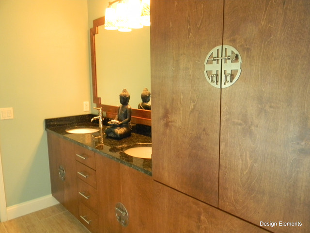 Asian Inspired Master Bath - asian - bathroom - other metro - by
