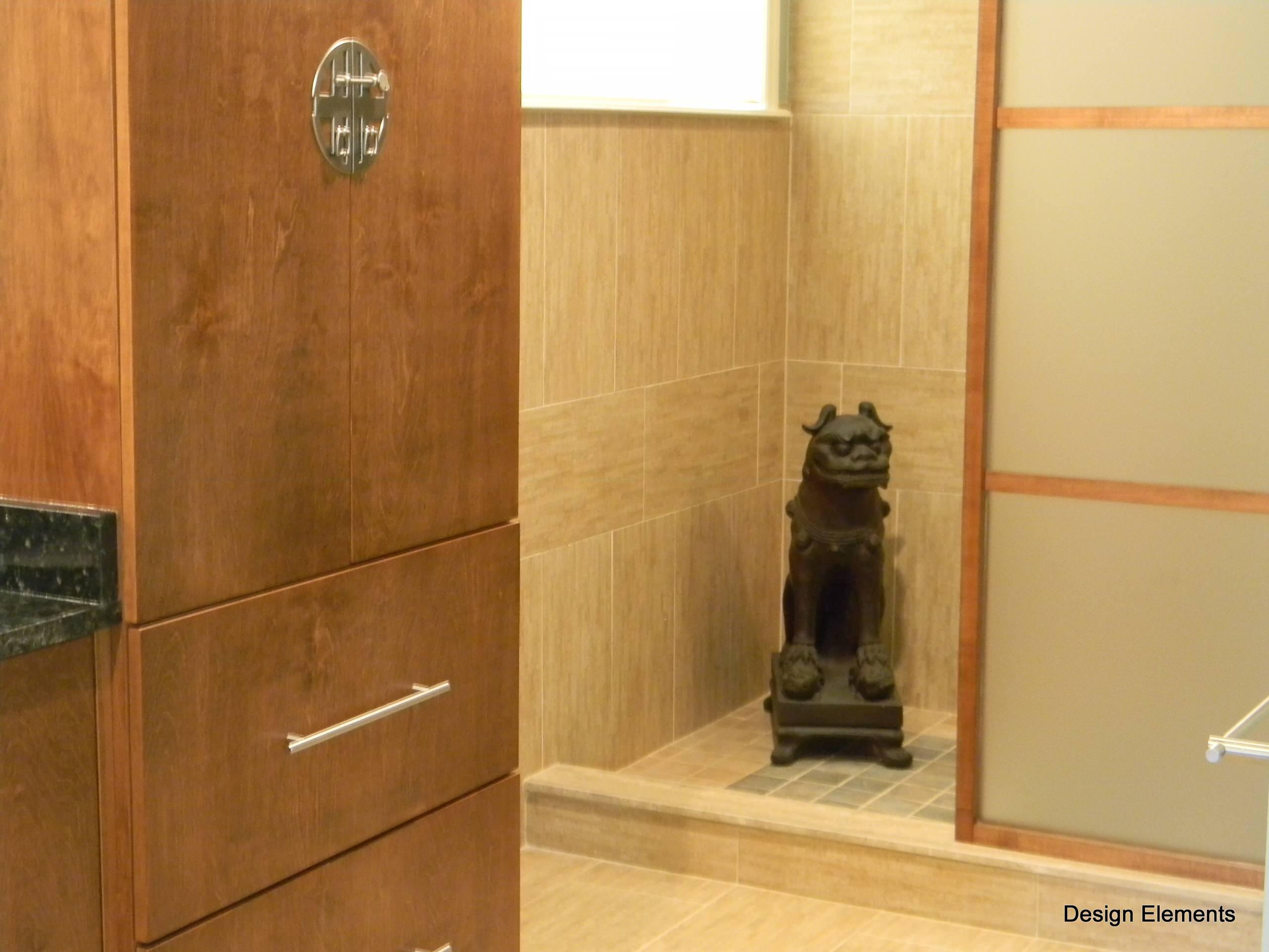 Asian Inspired Master Bath