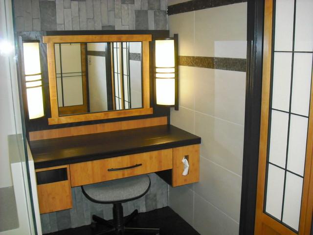 Asian Style Bathroom Lights Door Mirror Vanity Were